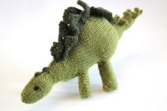 Knitted Stegosaur